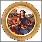 Madonna And Child With The Infant Saint john Collector Plate by Sodoma