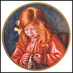 Artist's Son Jean Collector Plate by Auguste Renoir