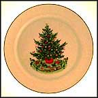 Christmas Tree Collector Plate