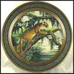 American Panther Collector Plate by James L. Lockhart