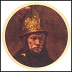 Man With A Gilt Helmet by Rembrandt Collector Plate by Rembrandt MAIN