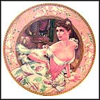 Lillie Langtry Collector Plate by Oleg Cassini MAIN