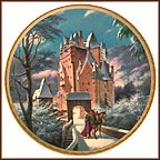 Eltz Castle Collector Plate by Darrell K. Sweet MAIN