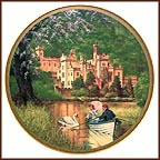 Kylemore Abbey Collector Plate by Darrell K. Sweet MAIN