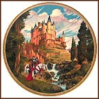 Palace Of The Moors Collector Plate by Darrell K. Sweet