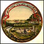 The Blue Danube Collector Plate by Marca America