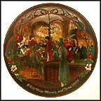 Wine, Women And Song Collector Plate by Marca America