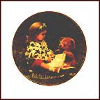 Teddy And Me Collector Plate by Rob Anders