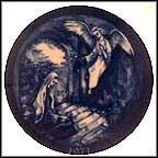 The Annunciation Collector Plate by Tom Fennell Jr. MAIN