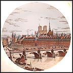Le Pont-Neuf 1665 Collector Plate MAIN