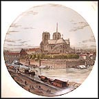 Notre-Dame de Paris 1750 Collector Plate MAIN