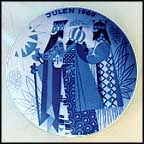Three Wise Men Collector Plate by Gunnar Bratlie