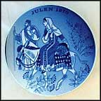 Road To Bethlehem Collector Plate by Gunnar Bratlie