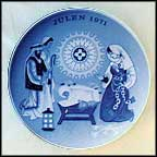 A Child Is Born In Bethlehem Collector Plate by Gunnar Bratlie