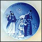 Jesus On The Road To The Temple Collector Plate by Gunnar Bratlie