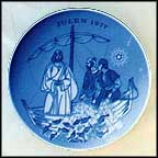 The Draught Of Fish Collector Plate by Gunnar Bratlie