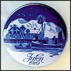 Home For Christmas Collector Plate by Gunnar Bratlie