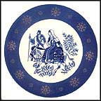 Road To Bethlehem Collector Plate
