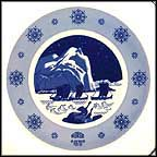 Femborings - Sailing To Fishing Banks Collector Plate by Gunnar Bratlie