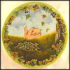 Fall Into Autumn Collector Plate by Nancy Duden