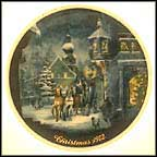 Carriage In The Village Collector Plate