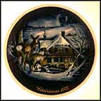 Forest Chalet, Serenity Collector Plate by Georg Rötzer