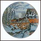 Christmas In The Country Collector Plate by Ken Zylla