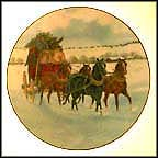 Homeward Bound Collector Plate by Ron Stewart