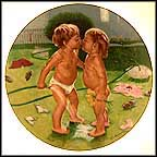 Just Friends Collector Plate by L. Henry