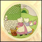 Monday - Washing Day Collector Plate by Charlotte Gutshall