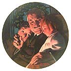 Christmas Story Collector Plate by Norman Rockwell