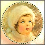 The Snow Bird Collector Plate by Bessie Pease Gutmann