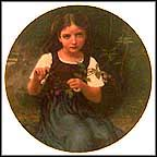 Lucie Collector Plate by William A. Bouguereau