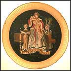 At Locksley Hall Collector Plate by J. C. Leyendecker