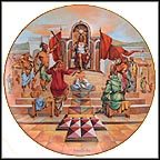 Solomon's Decision Collector Plate by Yiannis Koutsis