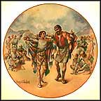 Joseph's Coat Of Many Colors Collector Plate by Yiannis Koutsis