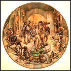 Jacob's Wedding Collector Plate by Yiannis Koutsis