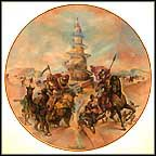 Tower Of Babel Collector Plate by Yiannis Koutsis