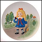 Off To School Collector Plate by Bill Mack