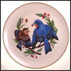 The Fledgling (Summer) Collector Plate by Gunther Granget