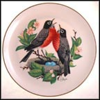 Voices Of Spring (Spring) Collector Plate by Gunther Granget