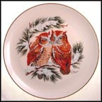 Warmth (Winter) Collector Plate by Gunther Granget