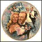 Fred And Ginger Collector Plate by Lawrence W. Whittaker