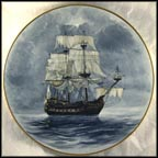 The Flying Dutchman Collector Plate by Alan D'Estrehan
