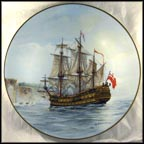 The Gaspe Bay Collector Plate by Alan D'Estrehan