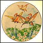 Off To The Picnic Collector Plate by Seima
