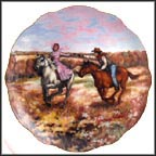 Catch Me If You Can Collector Plate by Rosemary Calder