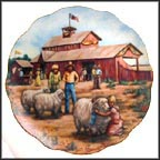 Fun At The Fair Collector Plate by Rosemary Calder