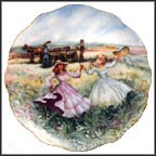 Prairie Picnic Collector Plate by Rosemary Calder MAIN