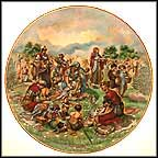 Manna From Heaven Collector Plate by Yiannis Koutsis